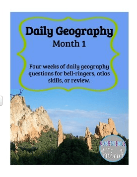 Daily Geography Giveaway- Kid World Citizen