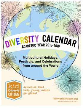 Diversity Calendar 2015 Giveaway- Kid World Citizen