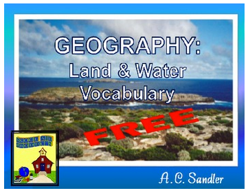 Geography Vocabulary Giveaway- Kid World Citizen