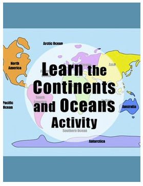 Learn the Continents Giveaway- Kid World Citizen