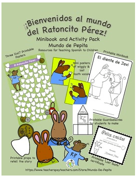 Ratoncito Perez Giveaway- Kid World Citizen