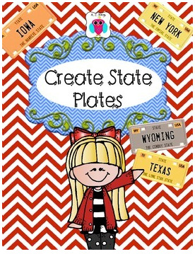 State Plates Geography Kids Giveaway- Kid World Citizen