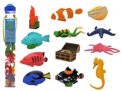 Coral Reefs Toob Animals Sea Creatures- Kid World Citizen