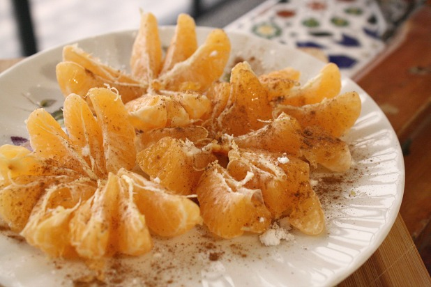 Moroccan Snacks Orange Salad- Kid World Citizen