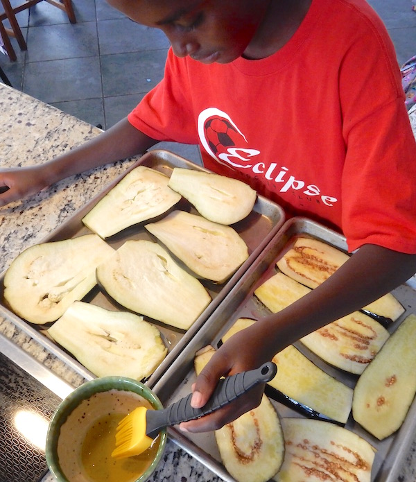 Easy Eggplant Parmesan Recipe- Kid World Citizen