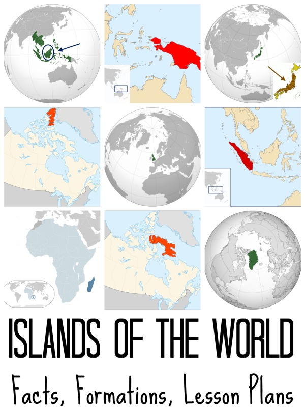 Largest Islands in the World- Kid World Citizen