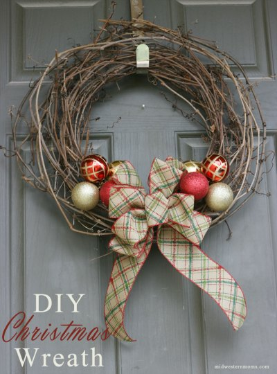 How To Make A Grapevine Wreath- Kid World Citizen