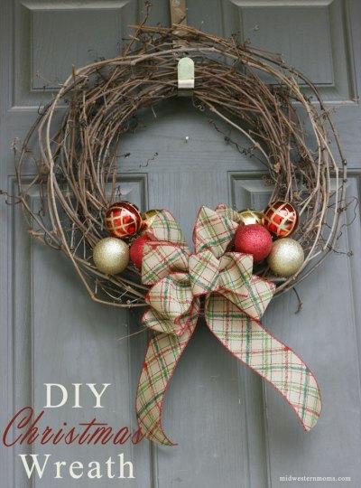 How To Make A Grapevine Wreath- Kid World Citizen
