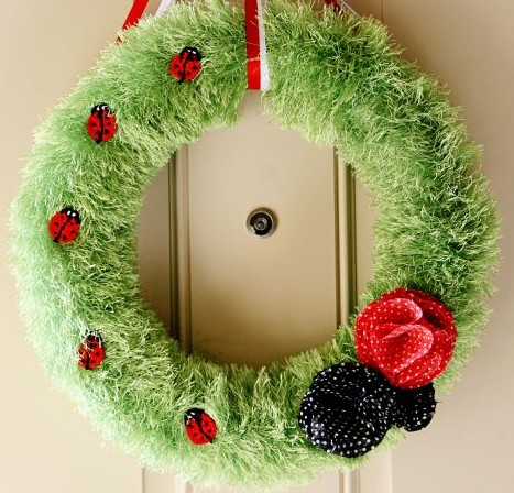 Ladybug Wreath- Kid World Citizen