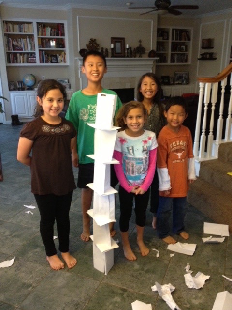 Paper Tower Budget Stem Activities- Kid World Citizen