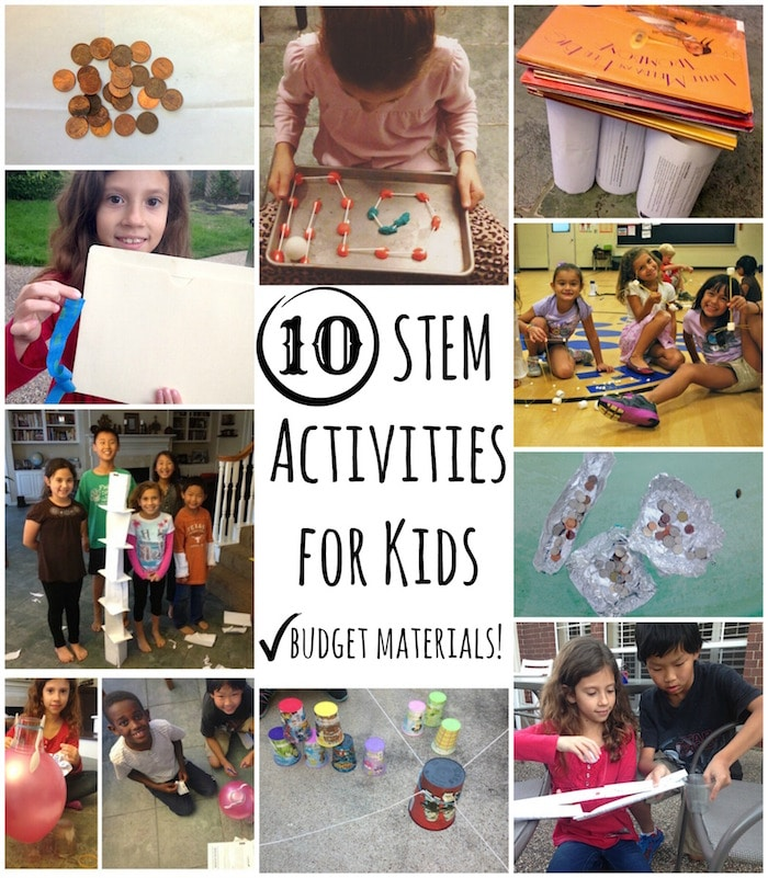 STEM Activities: Fun Building Activities for Kids, on a Budget