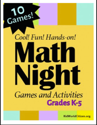 Math Night Cover TpT- Kid World Citizen