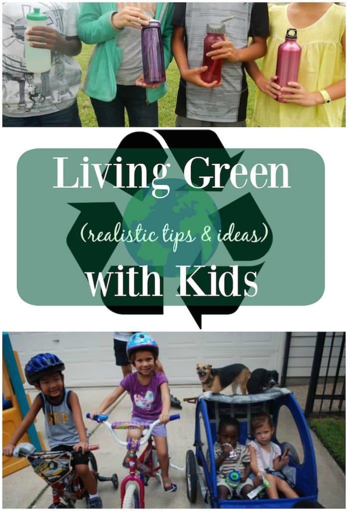 Living Green with Kids- Kid World Citizen