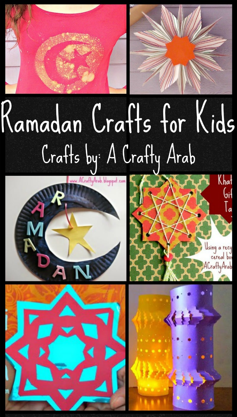 """Art And Craft Activities For Kids: Ramadan Crafts For Kids: Colorful And Fun Ideas From """"A"""