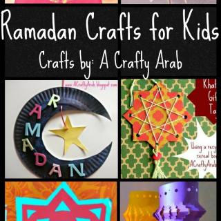 "6 Ramadan Crafts from ""A Crafty Arab"" Ramadan Crafty Challenge Series"