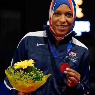 Fencing with Ibtihaj Muhammad