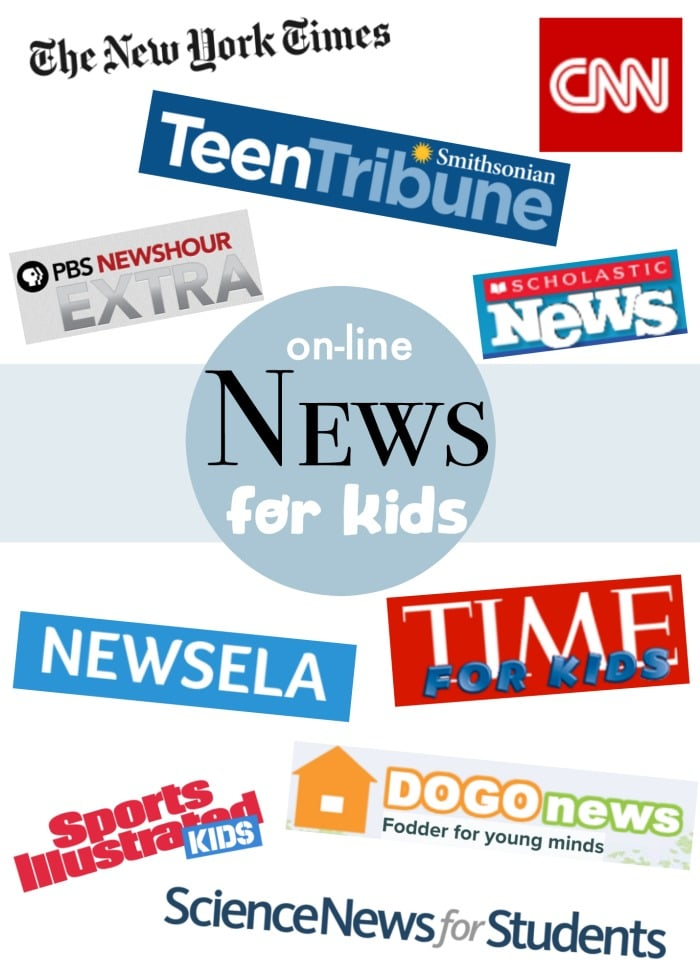 Online News for Kids- Kid World Citizen