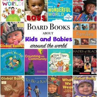 Board Books for Global Citizen Babies