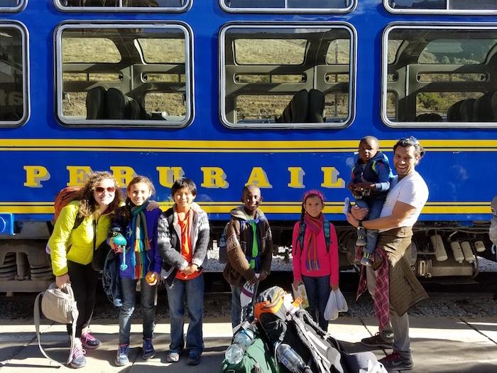 Machu Picchu Kids- Kid World Citizen