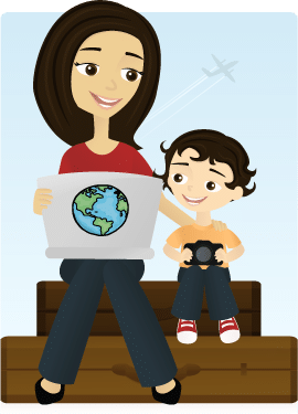 Mommy Maleta- Kid World Citizen