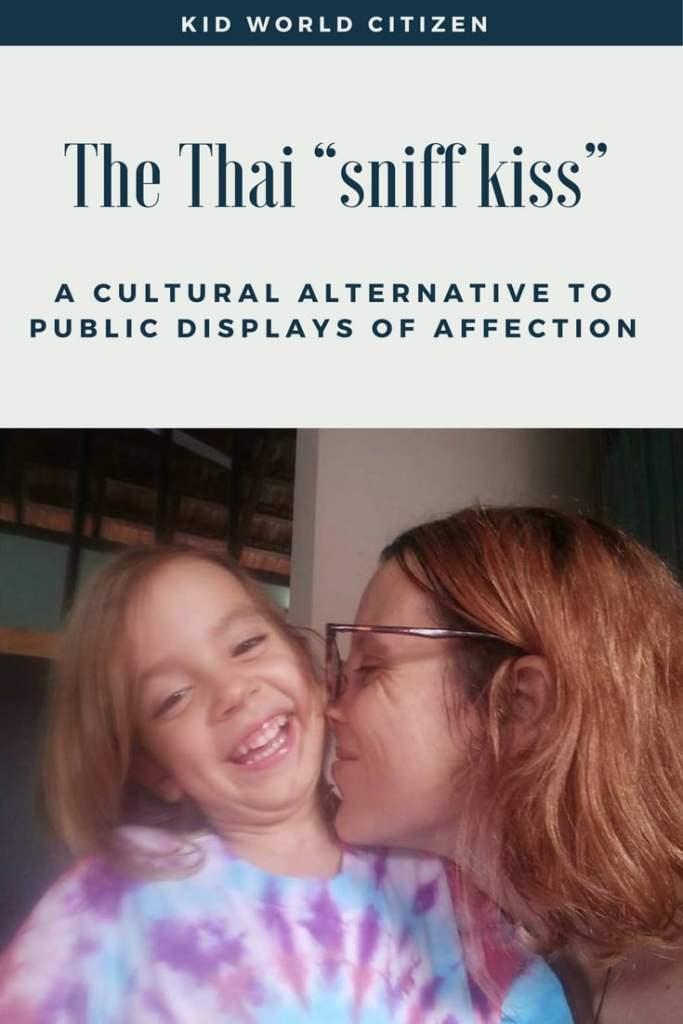Thai sniff kiss