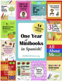 Spanish Minibooks- Kid World CItizen