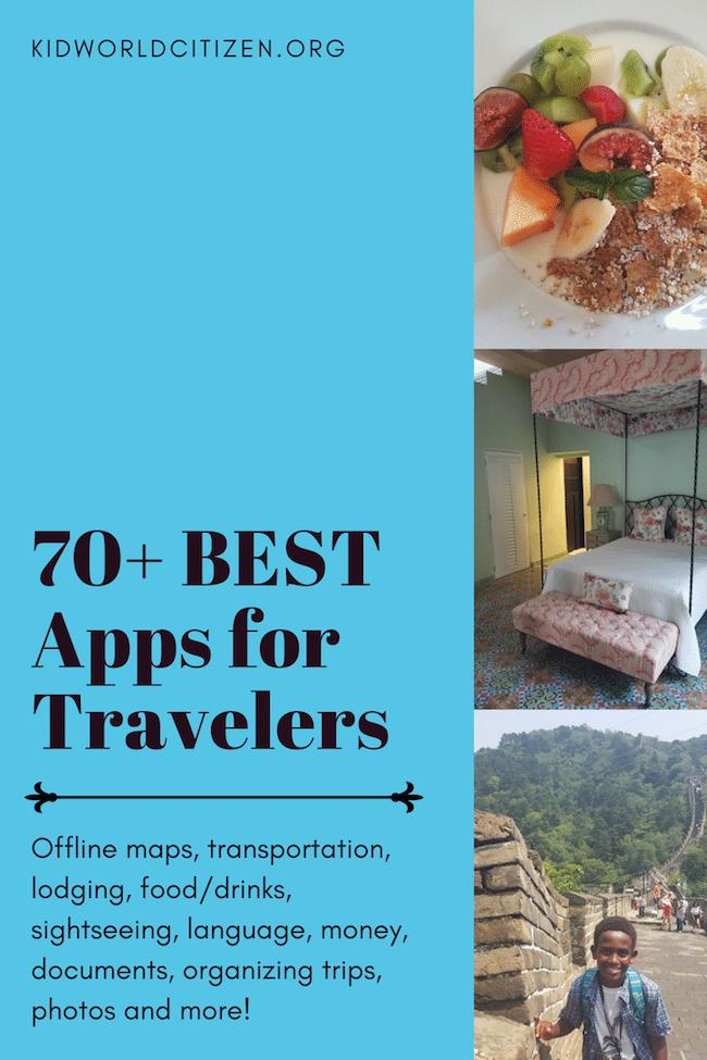 Best Apps for Travel- Kid World Citizen