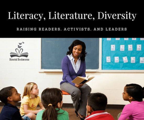 Diversity Literature Biracial Bookworms- Kid World Citizen