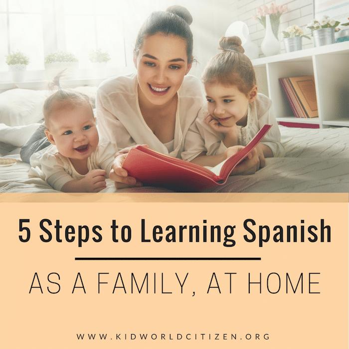 Learn to speak Spanish- Kid World Citizen