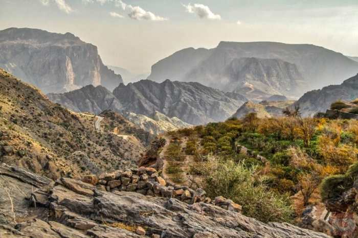 Jebel Al Akhdar Oman Zigzag On Earth- Kid World Citizen