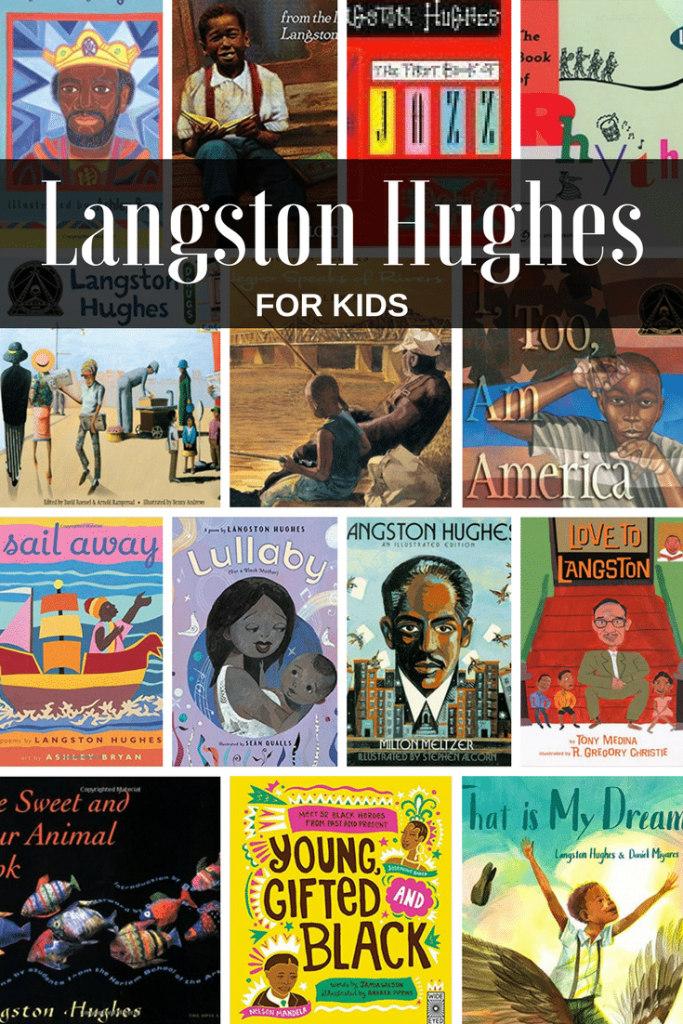 Langston Hughes Books for Kids- Kid World Citizen