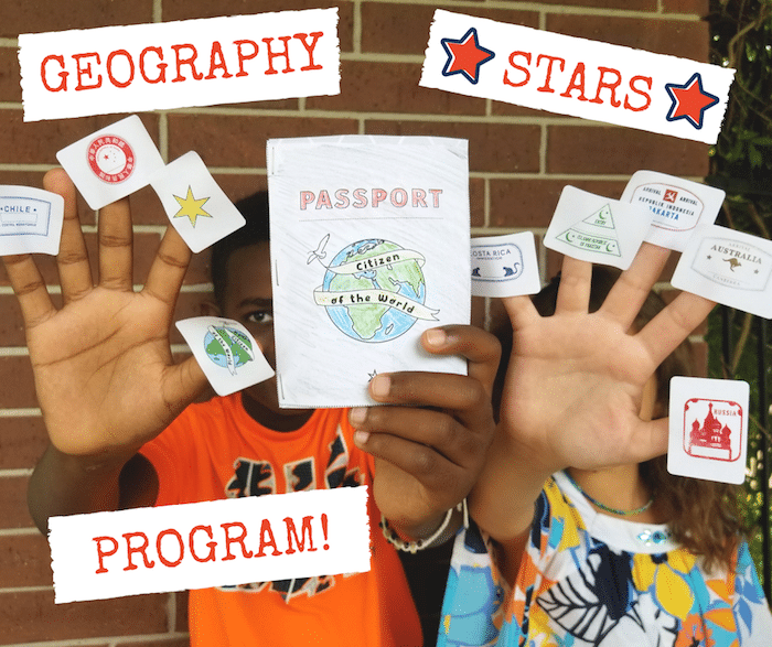 Geography Stars for Kids Program- Kid World Citizen
