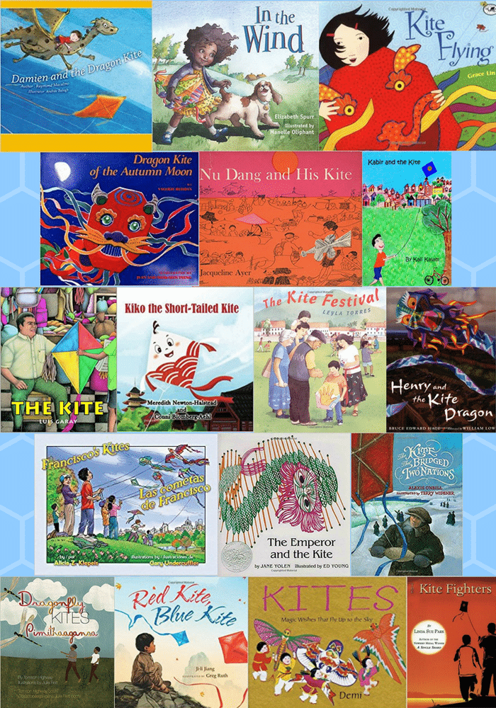 Kite Flying Books Kids Around the World- Kid World Citizen