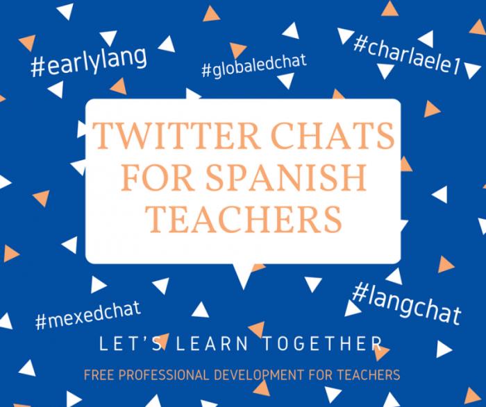 Twitter chats for Spanish teachers- Kid World Citizen