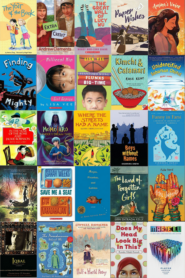 Books with Asian Characters- Kid World Citizen