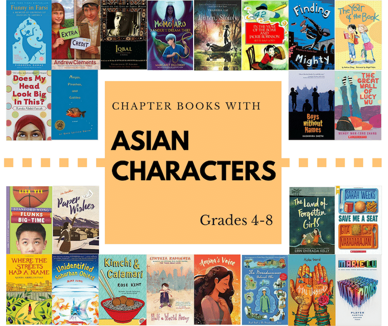 Chapter Books With Asian Characters For Kids Ages 11 14