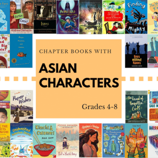 Fabulous Books with Asian Characters: Chapter Books and Free Verse