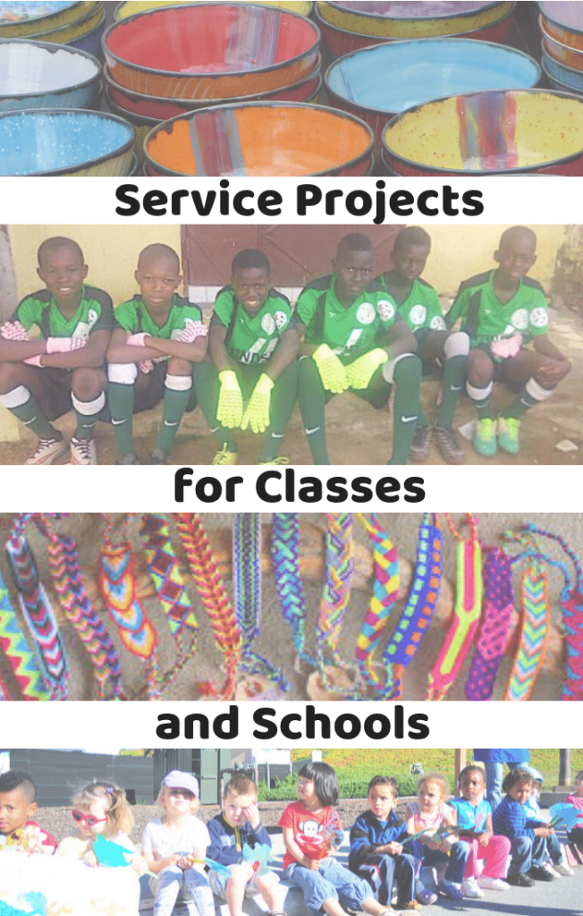 Service Learning Projects for Schools- Kid World Citizen