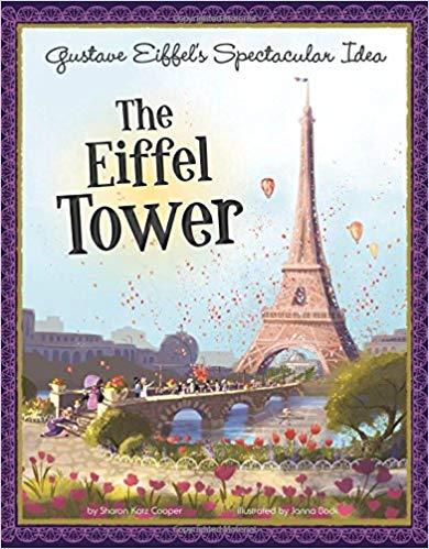 Eiffel Tower Gustav Book- Kid World Citizen