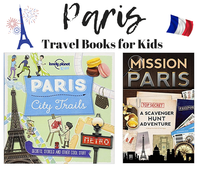 Learn about Paris Travel Books for Kids- Kid World Citizen