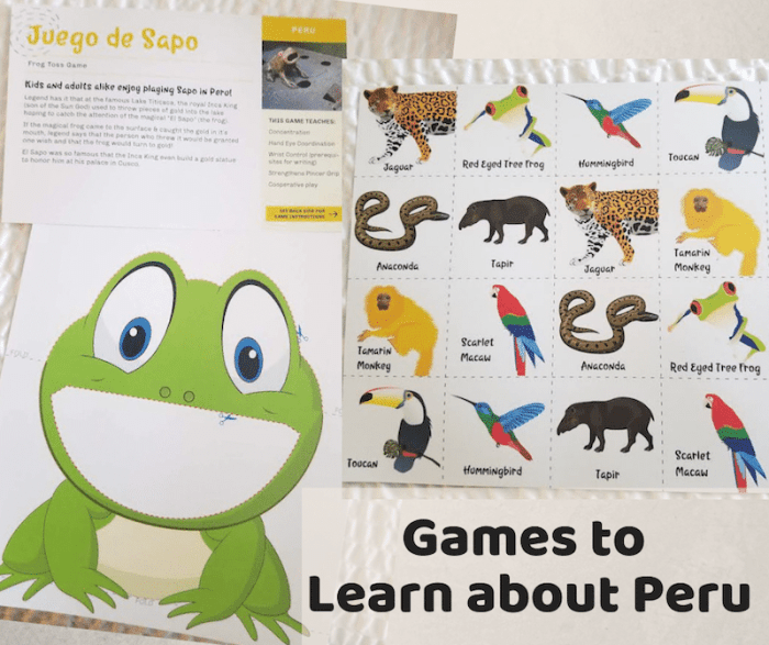 Games from Peru- Kid World Citizen