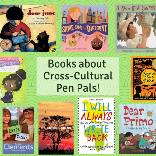 Kids Books about Pen Pals- Kid World Citizen