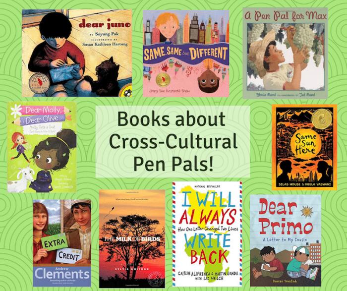 Kids Books about Pen Pals- Kid World Citizen