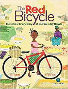 Red Bicycle Kids Books about Africa- Kid World Citizen