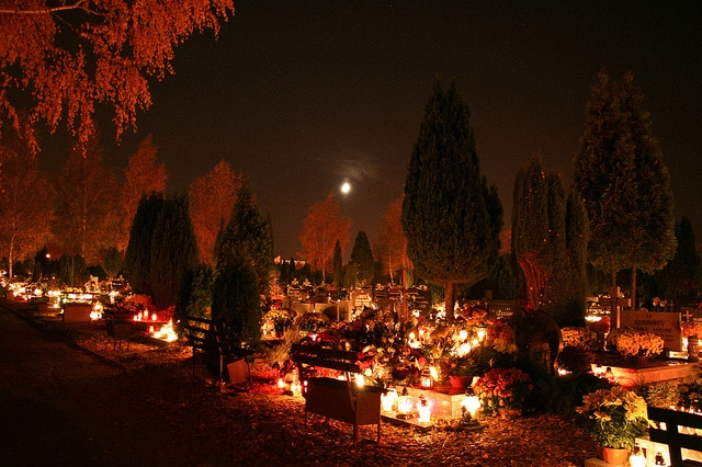 All Saints' Day Poland Gloglow- Kid World Citizen