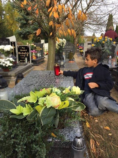 Child All Saints' Day in Poland- Kid World CItizen