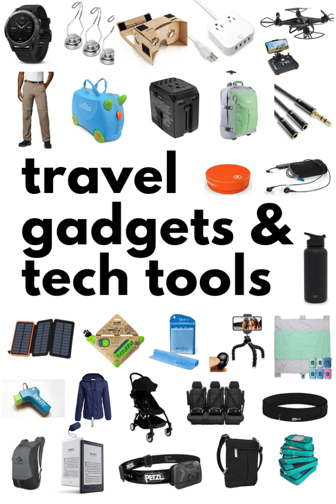 Travel Gadgets Tech Tools- Kid World Citizen