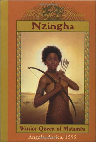 Nzinga Angola Book- Kid World Citizen