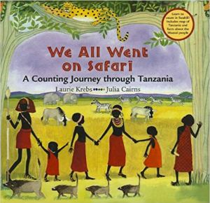 Safari Tanzania Counting Book- Kid World CItizen