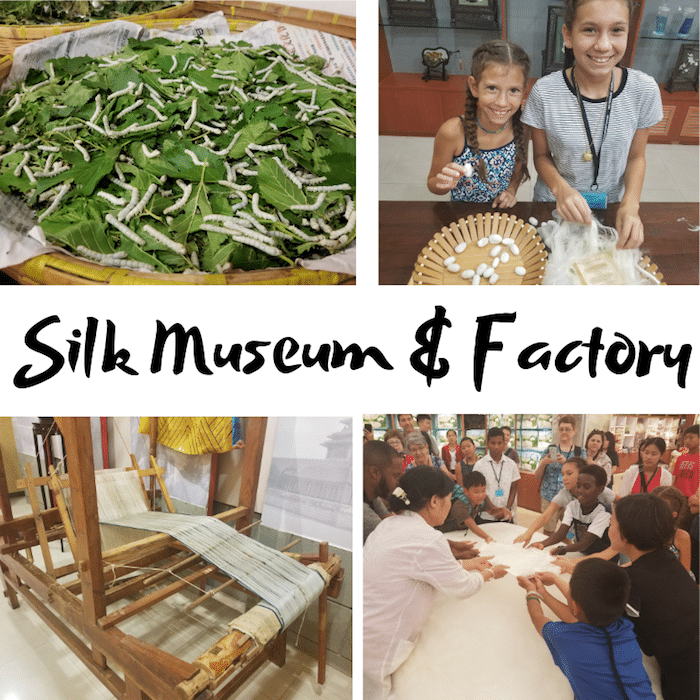 Beijing with Kids Silk Factory- Kid World Citizen
